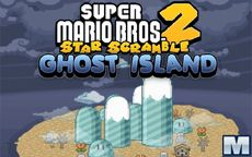 Super Mario Star Scramble 2 - Ghost Island