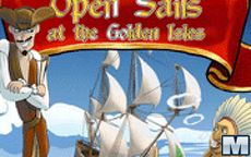 Open Sails At The Golden Isles