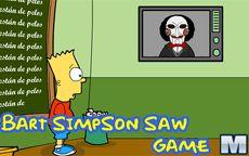 Bart Simpson Saw Game