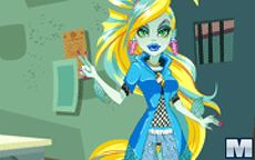 Monster High Series: Lagoona Blue Dress Up