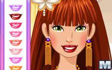 Barbie Party Facial Makeover
