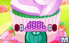Cupcake House Decorating