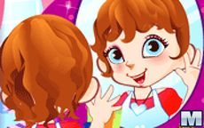 Cute Mirror Girl Make Up