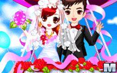 Romantic Wedding In The Sky