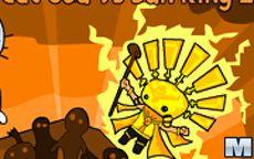 Cat God vs Sun King 2