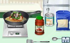 Cuisine avec Sara: Hamburger de Pizza