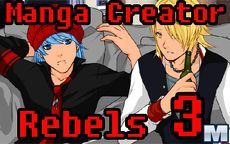 Manga Creator: Rebels page 3
