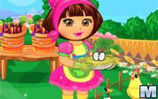 Dora at the Farm