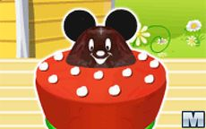 Mickey Mouse All Ears Cake