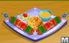 Cocina Pinchos de Pollo