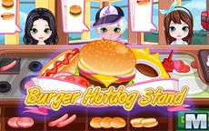 Burguer Hot Dog Stand