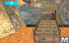 Army Cargo Truck Drive