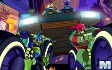 Rise of the TMNT: Road Riot