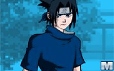 Naruto Dressing Up Sasuke